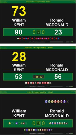 Livescoring Snooker